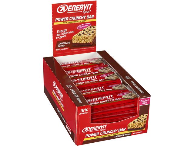 Enervit Sport Power Crunchy Bar Box 25x40g, Choco